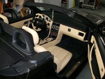 Ταπετσαρία αυτοκινήτου Mercedes SLK