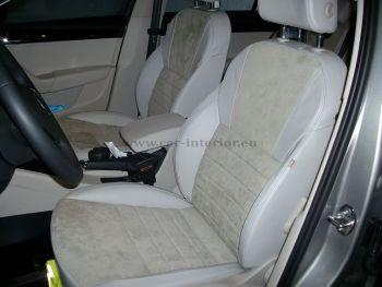 Ταπετσαρία με δέρμα σε Octavia station wagon