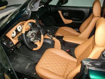 Αλλαγή δερματινής καθισμάτων σε Toyota X5