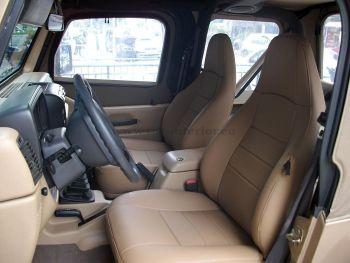 Ταπετσαρία αυτοκινήτου σε jeep wrangler