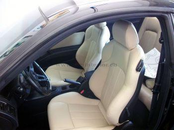 Επένδυση με δερματίνη σε Hyundai Coupe