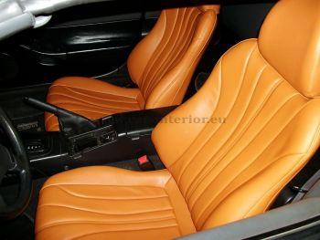 Σχέδιο με γαζιά σε κάθισμα αυτοκινήτου