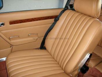 Ταπετσαρία καθισμάτων και ταμπλό σε Mercedes